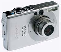 Cámara Canon Ixus 55
