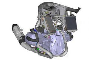 Motor Boxer refrigerado por aire/líquido