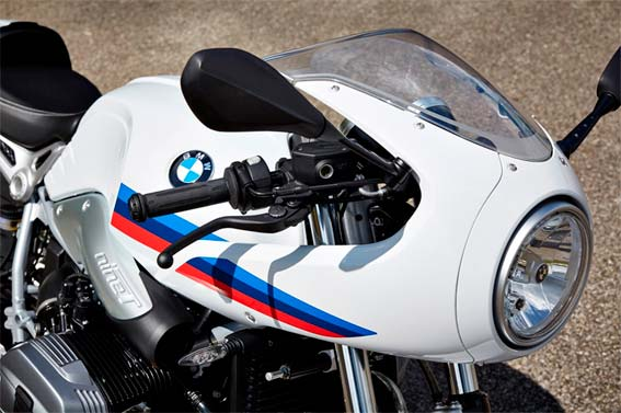 BMW R Ninet Racer, frontal