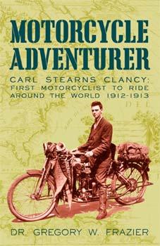 El libro escrito por Clancy de la primera vuelta al mundo en moto