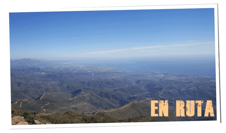 Sierra Bermeja, vistas