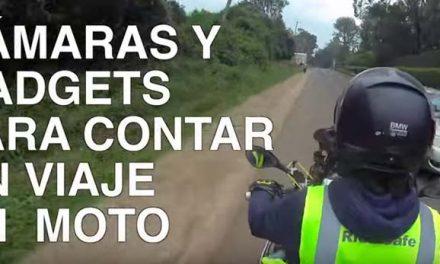 Cámaras y Gadgets para grabar en moto