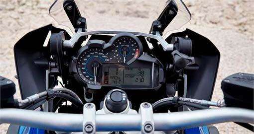 Cuadro de mandos de la renovada BMW R 1200 GS