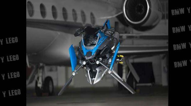 BMW Motorrad y Lego crean una moto voladora