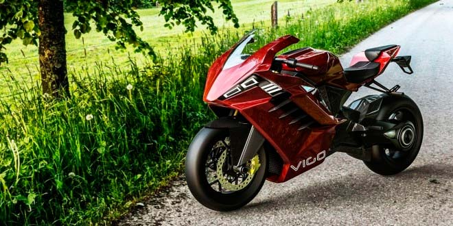 Vigo, la moto eléctrica que recorre 640 Km