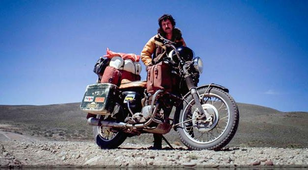 Ted Simon y la gran aventura de viajar en moto