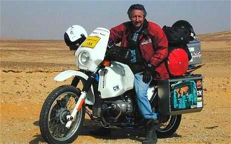 Ted Simon y su nuevo viaje