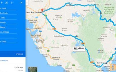 Ruta motera por la Sierra y la Costa otra vez
