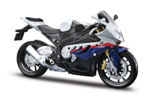 Moto miniatura BMW S1000RR escala 1:12