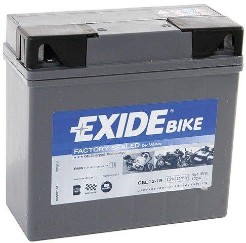 Batería para moto Exide Bike Boot Gel12 – 19