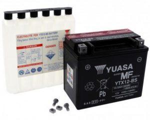Batería para moto YUASA - YTX12-BS