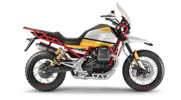 La nueva Moto Guzzi V85 con espíritu Dakariano