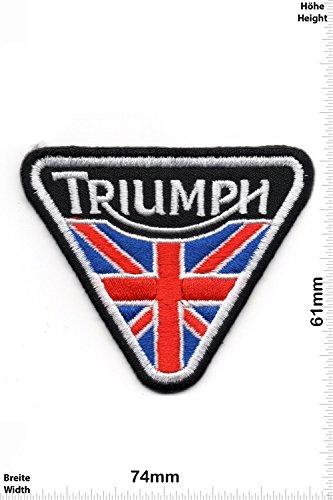 Parche Bordado Termoadhesivo Triumph triangulo